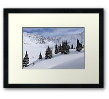 Mayflower Gulch Framed Print