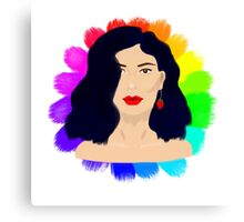 Marina and the Diamonds - Froot Inspired Canvas Print