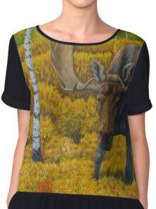 Bull Moose Chiffon Top