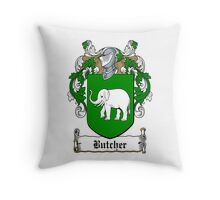 Butcher (Cork) Throw Pillow