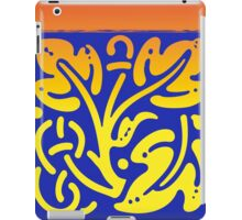 Colorful leaves modern design iPad Case/Skin