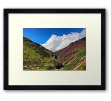 The Grey Mare's Tail Framed Print