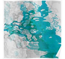 20160929 green blue oblivion no. 6 Poster