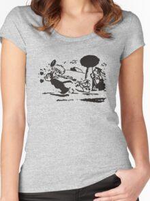 Pulp Fiction - Krazy Kat Women's Fitted Scoop T-Shirt
