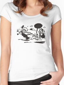 Pulp Fiction - Krazy Kat Women's Fitted Scoop T-Shirt