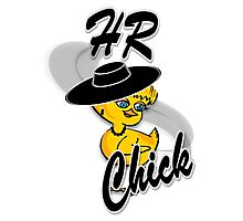 HR Chick #4 Photographic Print