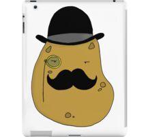 Sir Spiffy Spud iPad Case/Skin