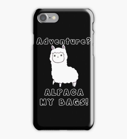 Alpaca Pun iPhone Case/Skin