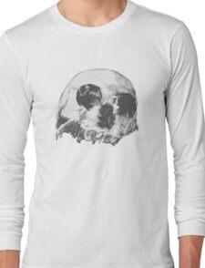 Skull optic illusion Long Sleeve T-Shirt
