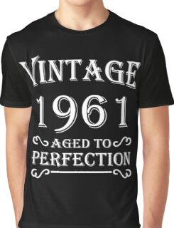 Vintage 1961 - Aged to perfection Graphic T-Shirt