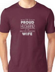 Proud Husband of Awesome Wife T-Shirt