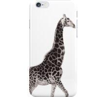 Giraffe Black iPhone Case/Skin