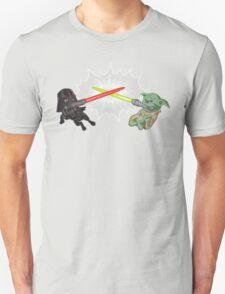 Dark vs. Light: Told with Pugs T-Shirt