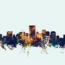 Richmond Virginia Skyline by Michael Tompsett