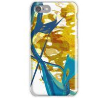 20160929 orange blue oblivion no. 7 iPhone Case/Skin