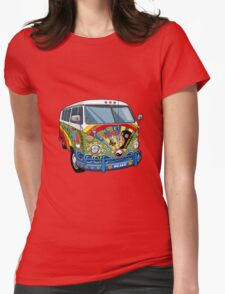 The Hippie Van Womens Fitted T-Shirt