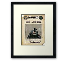 Penguin - Gotham's Most Wanted Framed Print