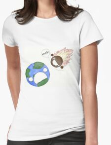 Hugs for Earth Womens Fitted T-Shirt
