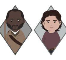 The Walking Dead: Squad Goals Sticker