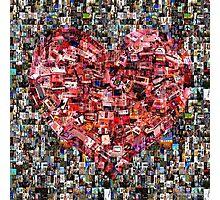 Heart of Gamer Photographic Print