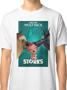 storks meet the wolf pack Classic T-Shirt