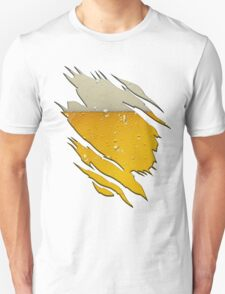 Funny Ripped With Beer Inside Unisex T-Shirt