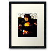 Mona Cher Framed Print