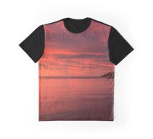 Crimson Dawn Graphic T-Shirt