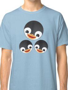 Three penguins family Classic T-Shirt
