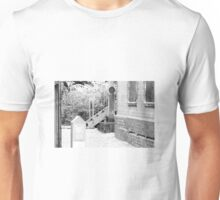 Ommi at the signal box Unisex T-Shirt