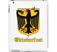 Funny Oktoberfest Germany Crest Parody iPad Case/Skin