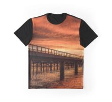 Dawn Bridge Graphic T-Shirt