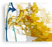 20160929 orange blue oblivion no. 8 Canvas Print