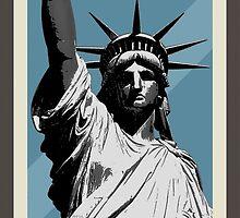Lady Liberty by morningdance