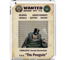 Penguin - Gotham's Most Wanted iPad Case/Skin