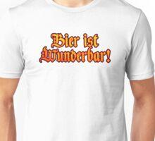 Vintage Classic Bier Ist Wunderbar! Beer Is Wonderful! Unisex T-Shirt