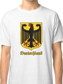 Classic Vintage Deutschland Germany Crest Classic T-Shirt