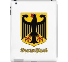 Classic Vintage Deutschland Germany Crest iPad Case/Skin