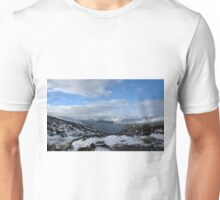 Scottish Mountains and Lochs Unisex T-Shirt