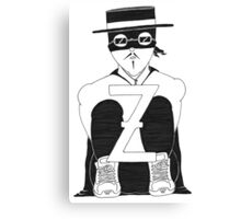 The Beard I Grow – Zorro Canvas Print
