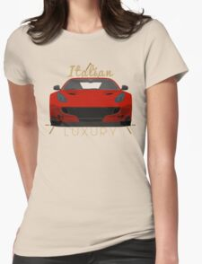 Italian luxury Womens Fitted T-Shirt