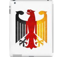 Classic Vintage Germany Flag Crest iPad Case/Skin
