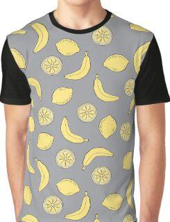 Bananas and Lemons Graphic T-Shirt
