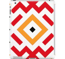 Ethnic pattern with three colours iPad Case/Skin