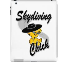 Skydiving Chick #4 iPad Case/Skin