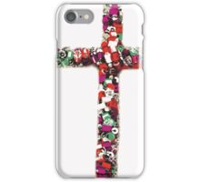 Colorful Cross of Faith iPhone Case/Skin