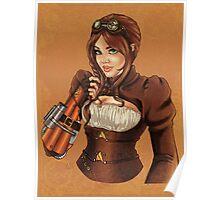 Steampunk Victoria Poster