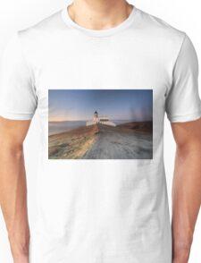 Stoer Lighthouse at Sunset Unisex T-Shirt