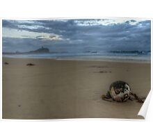 Nobby's Beach Stormy Sunrise Poster