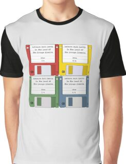 Leisure Suit Larry on 4 floppy discs Graphic T-Shirt